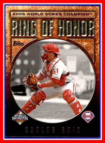 2009 Topps Ring Of Honor #RH51 Carlos Ru - Philadelphia Phillies Ring Shopping Results
