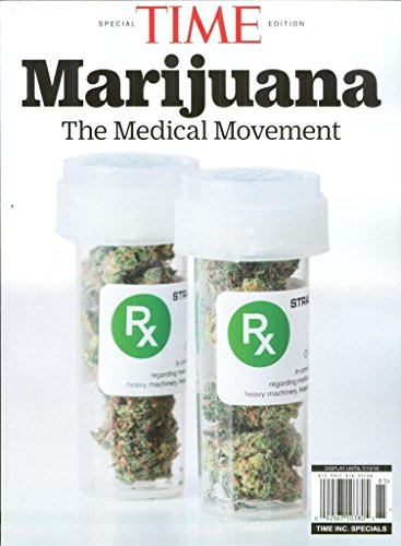(free Shipping) Time Special Edition Magazine 2018 Marijuana the medical ()