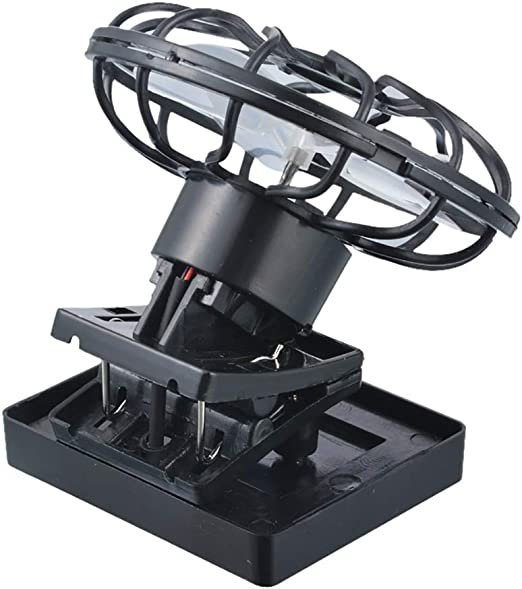 Debe ser Oasis Ventilador Solar Ventilador Solar portátil DC Micro ...