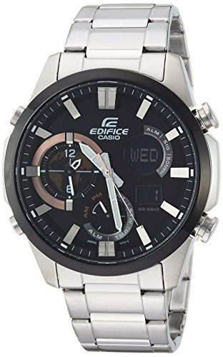 Casio Edifice Quartz Stainless Silver Toned