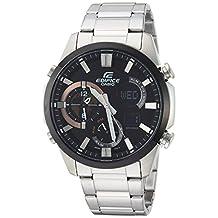 Casio Men's 'Edifice' Quartz Stainless Steel Casual Watch, Color:Silver-Toned (Model: ERA-500DB-1ACR)