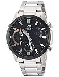 Casio Men's 'Edifice' Quartz Stainless Steel Casual Watch, Color:Silver-Toned (Model: ERA-500DB-1ACR)