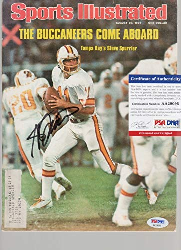(Steve Spurrier Signed AUTOGRAPH Complete SI Sports Illustrated Magazine - PSA/DNA Certified - Autographed College Magazines)