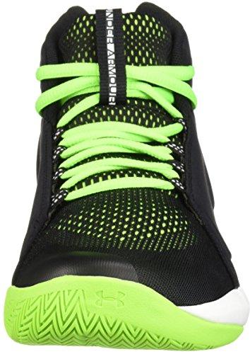 Mid Green black Chaussures Armour Bgs Torch Basketball Under white Noir Garçon hyper De Ua 7xnIUpg6