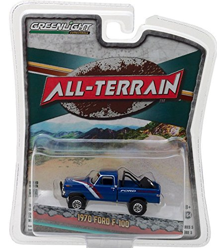 New 1:64 GREENLIGHT ALL-TERRAIN SERIES 5 COLLECTION - BLUE