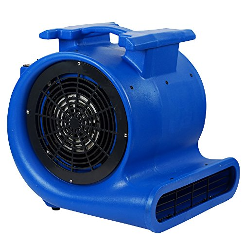 MOUNTO 3-Speed Air Mover Blower 1HP 4000+ CFM Monster Floor Carpet Dryers ()