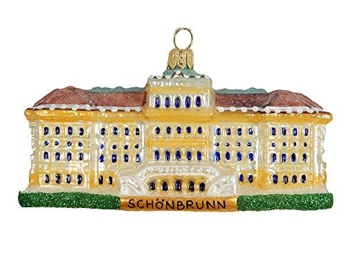 (Schonbrunn Palace Castle Vienna Austria Polish Glass Christmas Ornament Travel Souvenir Decoration)