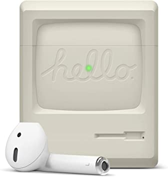 Amazon Com Elago Aw3 Designed For Airpods Case Old School Retro