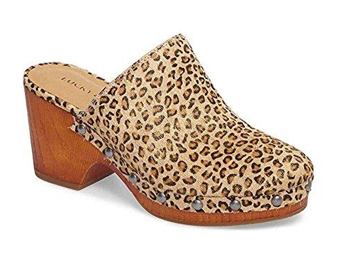Lucky Women's LK-Yeats Clog Mini Metallic Leopard
