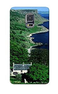 Cute Tpu Angelfouho Benvane Farm Overlooking Murlough Bay, Northern Ireland Case Cover For Galaxy S5