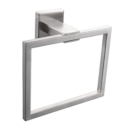 KES SUS 304 Stainless Steel Bath Towel Holder Hand Towel Ring Hanging Towel  Hanger Bathroom Accessories