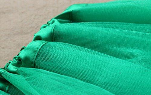 FreestyleMo - Falda - globo - para mujer Verde