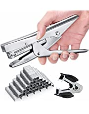 Stapler with 1000 Staples and Remover Set 20 sheets Capacity Full Desktop Office Size Work