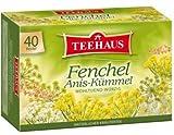 Teehaus Fennel Anise Caraway Tea (Pack of 2)