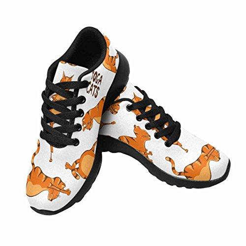 Interestprint Femmes Jogging Running Sneaker Léger Aller Facile Confort De Marche Sport Chaussures De Course Multi 2