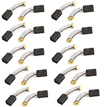 Uxcell a14031200ux0567 Electric Drill Motor Carbon Brushes, 12mm x 8mm x 5mm, 20 Pcs, ,