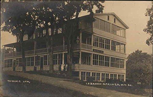 Taconic Inn Lebanon Springs, New York Original Vintage Postcard