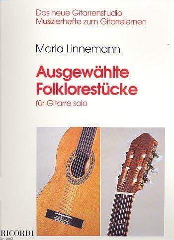 Maria Linne Mann: Seleccionados Folklore unidades para guitarra ...