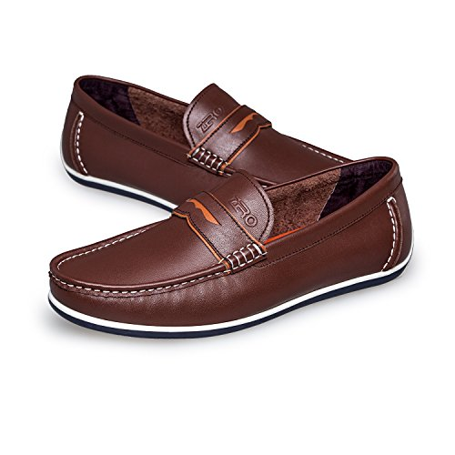 Zero Hombres Penny Loafer Drive Classic Slip-on Brown