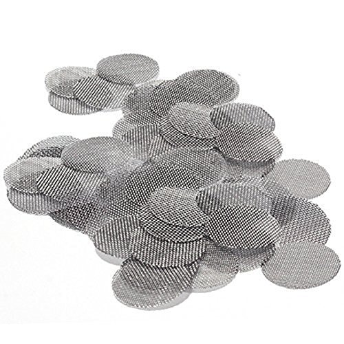 100pcs Pipe Screens Filters Stainless Steel 3/4 inch (Diameter 20mm)