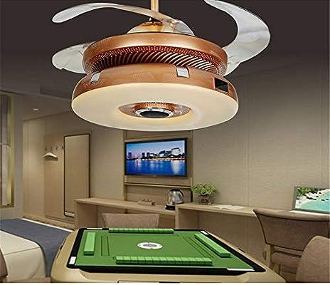 LED de aleación Moderna acryl ABS Oro Aire purificador de Techo ...