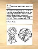The Botanical Magazine, William Curtis, 1171411669