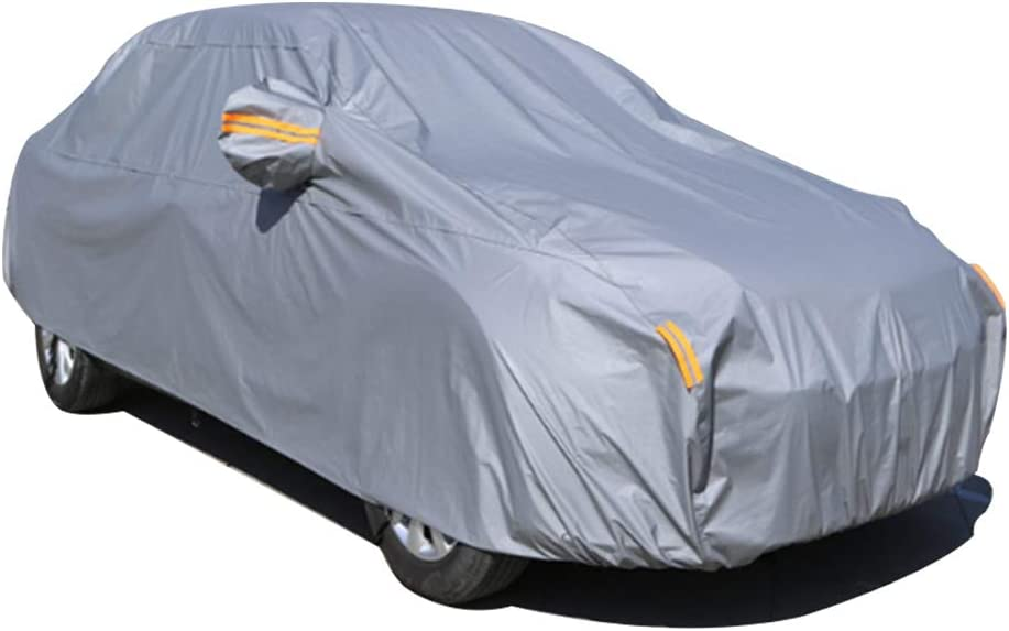 Car Cover for Mercedes-Benz A-Class B-Class C-Class E-Class CLS All Weather Breathable Outdoor Indoor Waterproof Windproof Dustproof Scratch Resistant UV Protection Custom Cover
