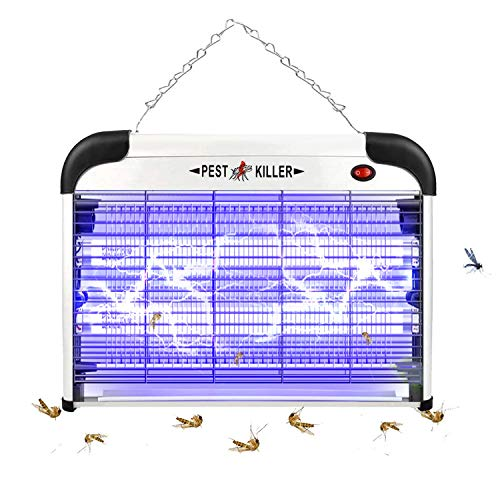 Qremove Electric Bug Zapper/Pest Repeller Control, Insect Killer, Strongest Indoor 2800 V 20 W UV Lamp Mosquito Flies…