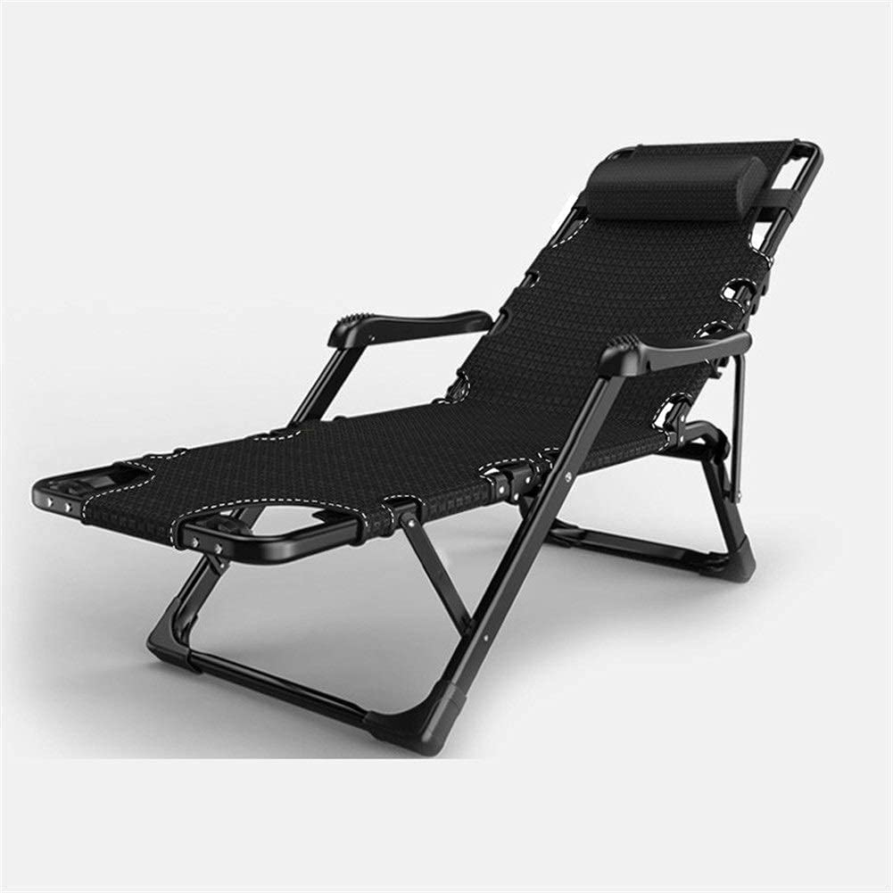Wyxy Garden Loungers and Recliners Sunbed Zero Gravity Chair Outdoor Furniture Folding Bed for The Beach Pool Outdoor Patio Garden Camping Feet Steel