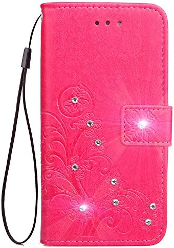 Lomogo Sony Xperia XZs (SO-03J / SOV35 / 603SO) / Xperia XZ (SO-01J / SOV34 / 503SO) ケース 手帳型 耐衝撃 レザーケース 財布型 カードポケット スタンド機能 マグネット式 エクスぺリアXZ/XZs 手帳型ケース カバー 人気 - LOSDA081779 バラ色