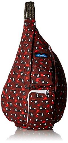(KAVU Women's Rope Bag Backpack, Raccoon, One Size)