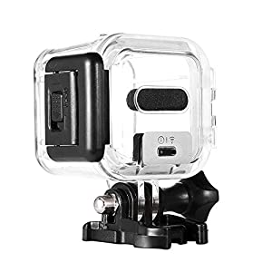 Taotree GoPro HERO Session 5 Waterproof Housing Standard Protective Case Replacement with Bracket & Screw for GoPro HERO4 HERO5 Session 45m Underwater Diving