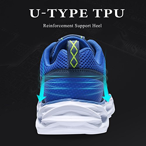 Bleu Hommes Sneakers Outdoor Basket Camel Mode Gym Sports Chaussures Casual Multisports athlétique Fitness Course de 6dBSqd