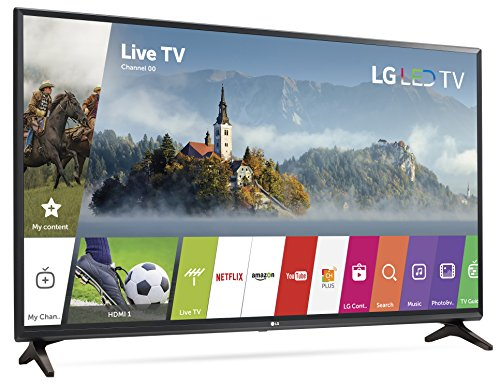 LG Electronics 32LJ550B 32-Inch 720p Smart LED TV (2017 Model)