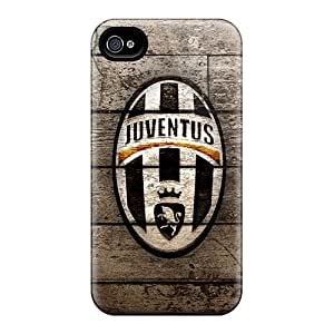 Excellent Hard Phone Cover For Apple Iphone 4/4s (yLQ860Zako) Support Personal Customs Attractive Juventus Clup Image