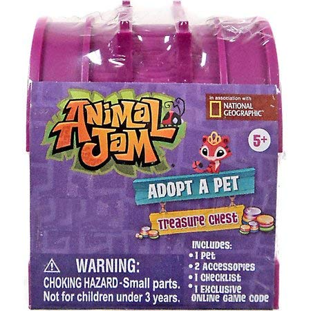 Animal Jam Adopt a Pet Treasure Chest Sealed Mystery Box of 24 Chests Game Code by Animal Jam (Image #3)