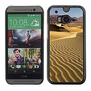 Carcasa Funda Case // V0000330 Dune Valley Dunes California // HTC ONE M8