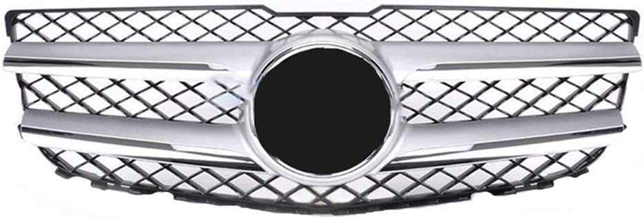 MotorFansClub Chrome Silver Front Grille for Mercedes-Benz GLK 250 350 2013 2014 2015 Front Main Grill US Shipment