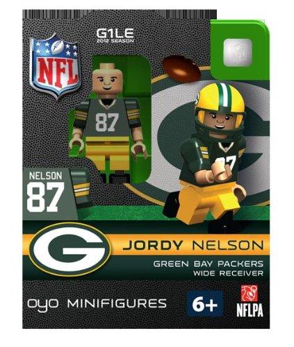 NFL Bay Packers Jordy Nelson Green Figurine