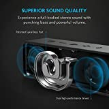 Anker SoundCore Bluetooth Speaker with 24-Hour Playtime, 66-Foot Bluetooth Range & Built-in Mic, Dual-Driver Portable Wireless Speaker with Low Harmonic Distortion and Superior Sound (Black)