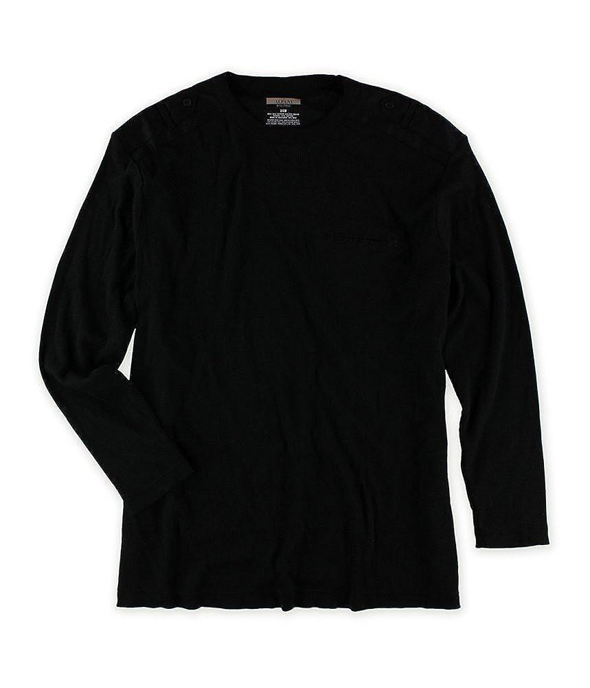 Alfani Mens Ls Solid Thermal Sweater 14265BM499