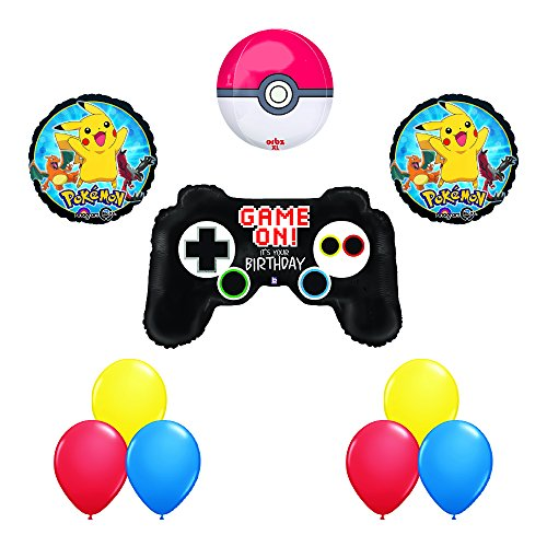 Controller Birthday Balloons Decoration Supplies product image