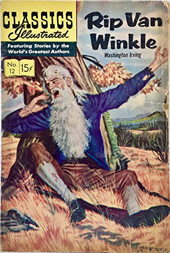 (1966 - Gilberton Co Inc/Classics Illust2 - Rip Van Winkle Comic book by Washington Irving - Rare - Collectible)
