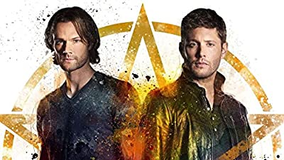 MOTIVATION4U Supernatural an American Fantasy Horror Television Series, Dean Winchester, Sam Winchester 12 x 18 inch Poster