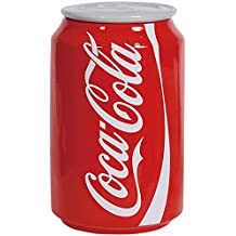 "Westland Giftware Ceramic Canister, Coca-Cola Can, 8"", Multicolor"