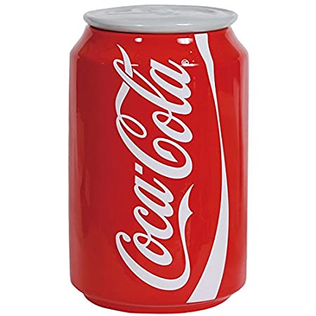 Westland Giftware Ceramic Canister, Coca-Cola Can, 8