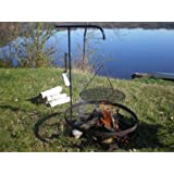 Wimpy's Swing-away Campfire Grill