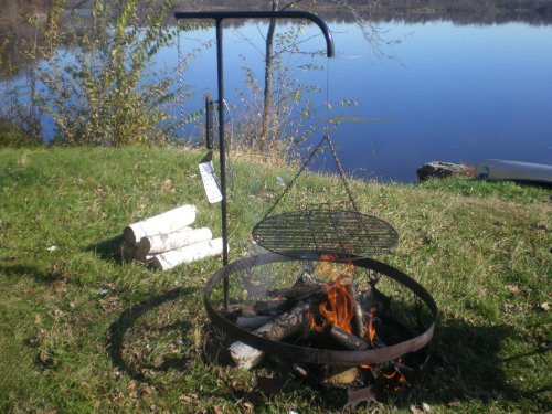 Cowboy Campfire Grill made our list of Campfire Cooking Equipment You Can't Live Without with the best tools, accessories, utensils and cookware for your camp cooking creations!