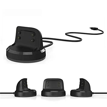 Reemplazo USB Carga Cable Cargador Dock para Samsung Gear Fit 2 / Fit 2 Pro Smart Reloj SIKAI Replacement Portátil de Repuesto Charging Dock Cradle ...