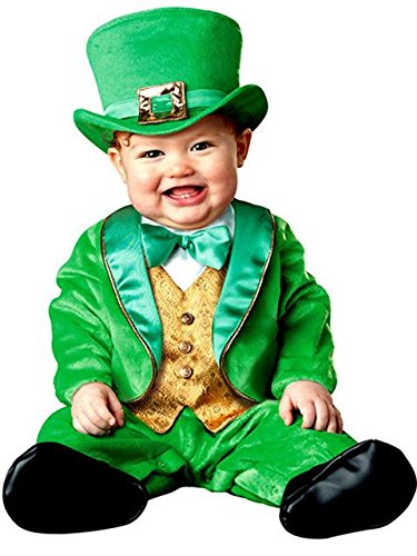 InCharacter Costumes Baby's Lil' Leprechaun Costume, Green/Gold/White, Large (18 Months-24 Months)